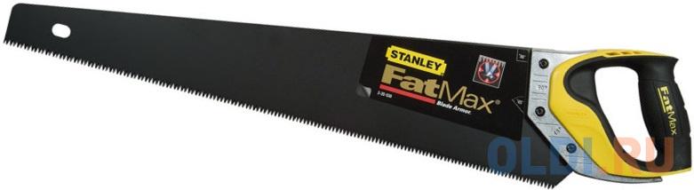 Ножовка по дереву STANLEY 2-20-530 7 х 550мм и защитной накладкой ножовка по дереву stht20349 1 stanley