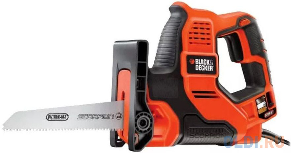 Сабельная пила Black  Decker RS890K-QS 500Вт.