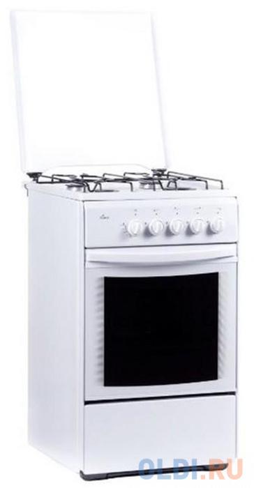 Плита Газовая Flama FG 24022 W белый электрическая плита flama 33606 w