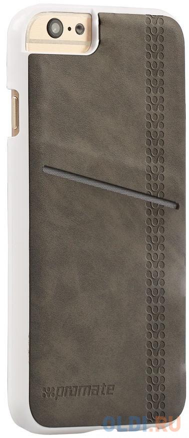Накладка для iPhone 6 Plus Promate Slit-i6P серый 3d embroidered applique slit side coat