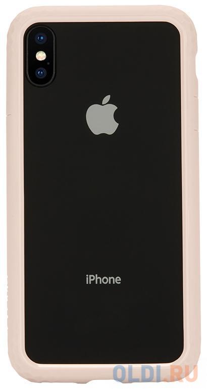 Бампер Incase Frame Case для iPhone X розовое золото INPH190376-RGD.