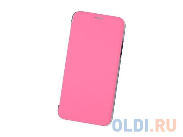 Чехол Book Case для IPhone X/ Xs, экокожа, розовый, BoraSCO