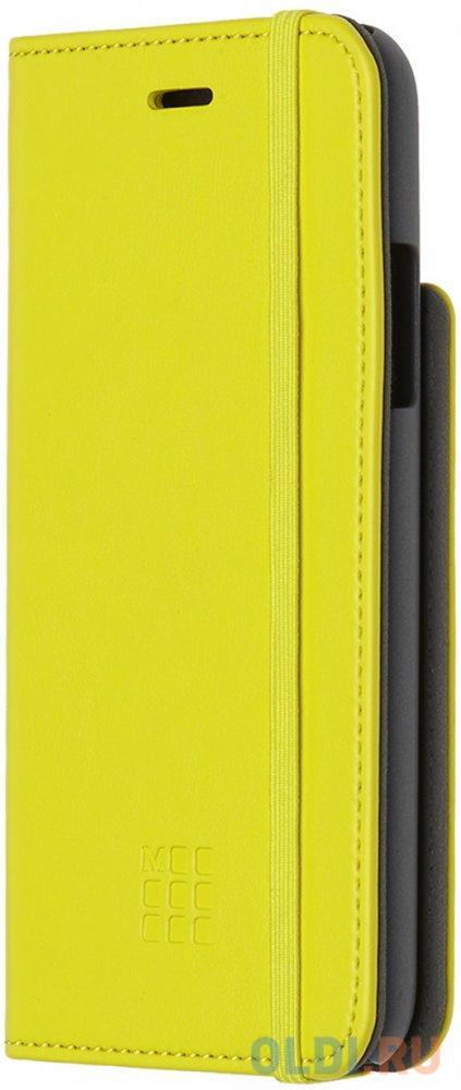 Чехол-книжка Moleskine MO2CBPXM18 для iPhone X желтый.