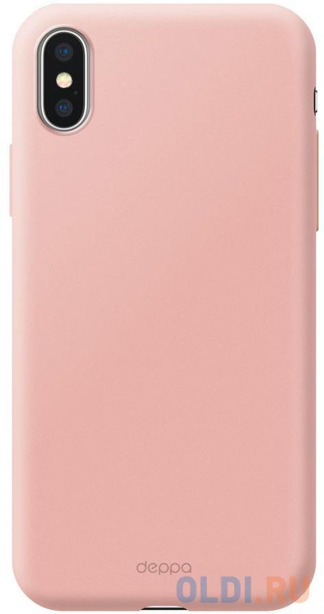 Чехол Deppa Чехол Air Case для Apple iPhone Xs Max, розовое золото, Deppa чехол накладка deppa gel plus case матовый для apple iphone x xs розовое золото