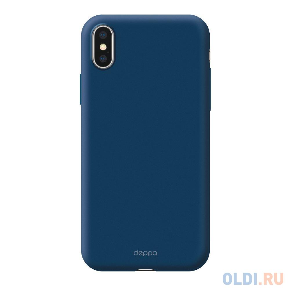 Чехол Deppa Air Case для iPhone X iPhone XS синий 83368