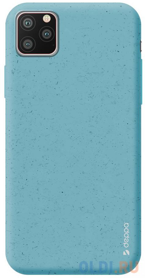 Чехол Deppa Eco Case для Apple iPhone 11 Pro, голубой
