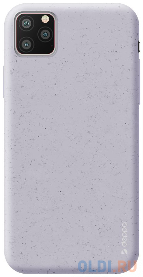 Фото - Чехол Deppa Eco Case для Apple iPhone 11 Pro, лавандовый чехол клип кейс deppa eco case для apple iphone 11 голубой [87282]
