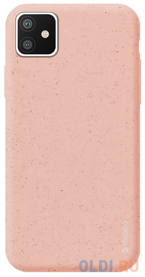 Чехол Deppa Eco Case для Apple iPhone 11, розовый