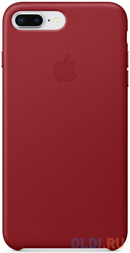 "Накладка Apple ""Leather Case"" для iPhone 7 Plus iPhone 8 Plus красный MQHN2ZM/A"