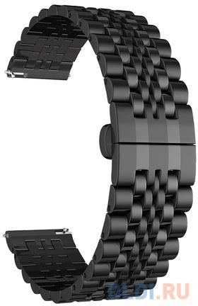 Ремешок Lyambda Castor для универсальный чёрный DSG-07-01T-20-BK