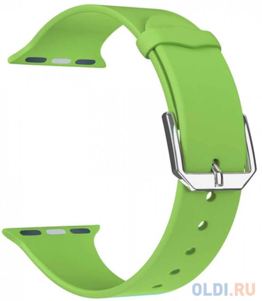 Фото - Ремешок Lyambda Alcor для Apple Watch зеленый DS-APS08C-44-GN ремешок lyambda alcor для apple watch голубой ds aps08c 44 bl