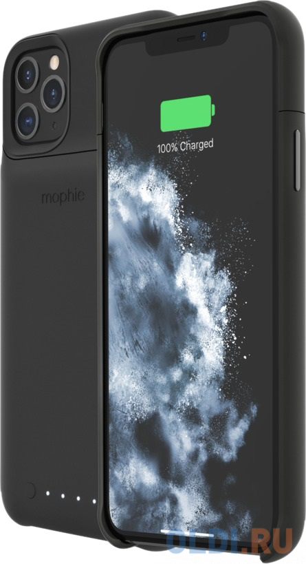 Чехол-аккумулятор Mophie Juice Pack для iPhone 11 Pro Max чёрный 401004413.