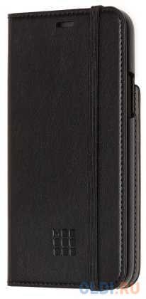 Чехол-книжка Moleskine ET20SCBRP58BK для iPhone 11 Pro чёрный.