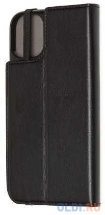 Чехол-книжка Moleskine ET20SCBRP61BK для iPhone 11 чёрный.