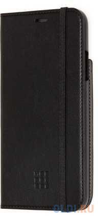 Чехол-книжка Moleskine ET20SCBRP65BK для iPhone 11 Pro Max чёрный.
