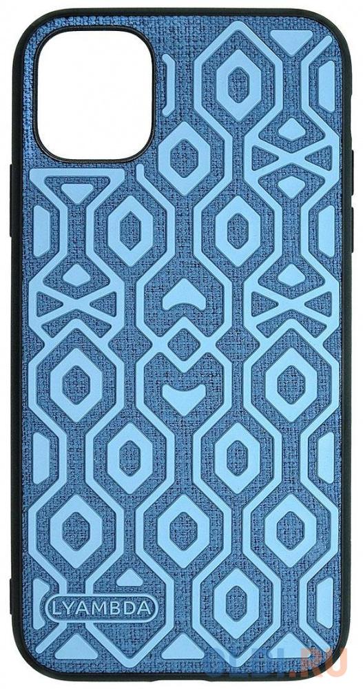 Фото - Накладка Lyambda Eris для iPhone 12 mini синий LA11-1254-BL чеxол клип кейс lyambda eris для iphone 12 mini la11 1254 gr green