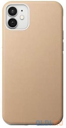Накладка Nomad Rugged Case для iPhone 12 iPhone 12 Pro бежевый NM01972785