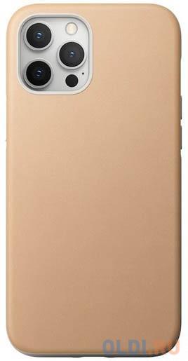 Накладка Nomad Rugged Case для iPhone 12 Pro Max бежевый NM01973485