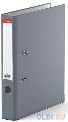 Папка–регистратор с арочным механизмом разборная ErichKrause®, Business, А4, 50 мм, серый фото