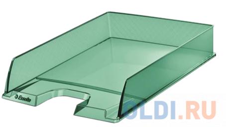 Лоток горизонтальный Esselte 626275 Colour`Ice 254x61x350мм зеленый полистирол