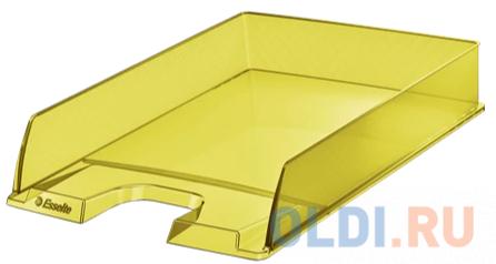Лоток горизонтальный Esselte 626272 Colour`Ice 254x61x350мм желтый полистирол
