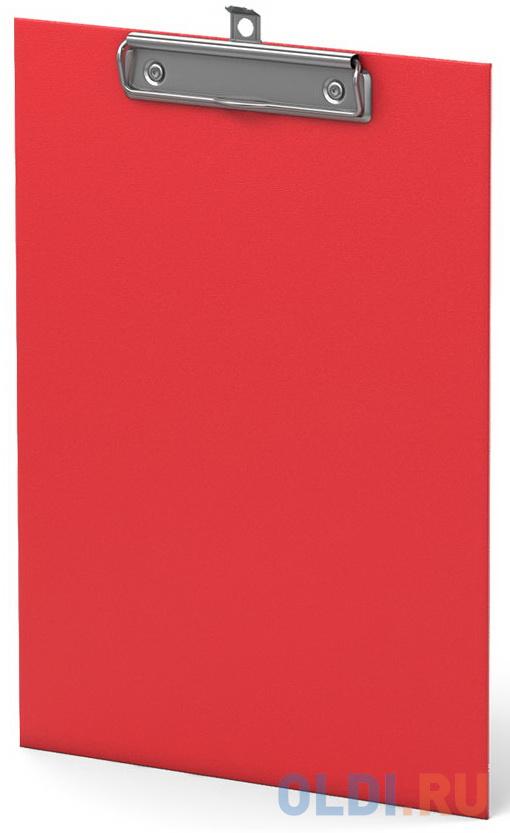 Планшет с зажимом ErichKrause® Standard, А5, красный