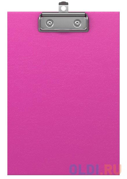 Планшет с зажимом ErichKrause® Neon, А5, розовый