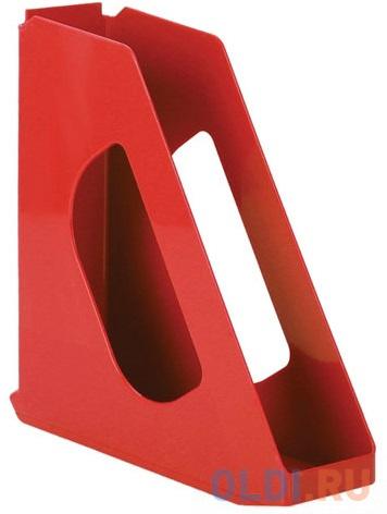 Лоток вертикальный для бумаг ESSELTE VIVIDA, ширина 72 мм, красный, 623935