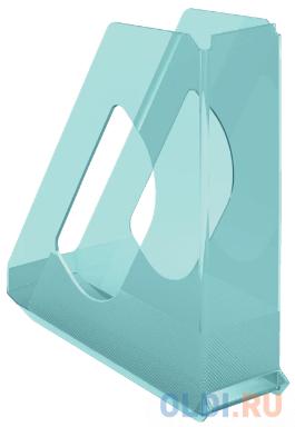Лоток вертикальный Esselte 626279 Colour`Ice 72x256x260мм синий полистирол