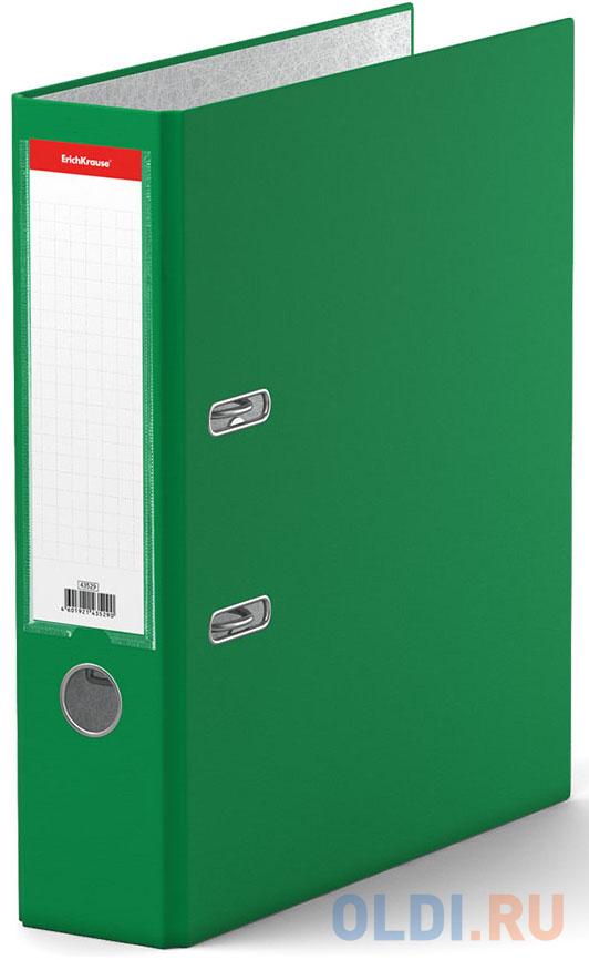 Папка–регистратор с арочным механизмом разборная ErichKrause®, Granite, А4, 70 мм, зеленый фото