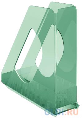 Лоток вертикальный Esselte 626280 Colour`Ice 72x256x260мм зеленый полистирол