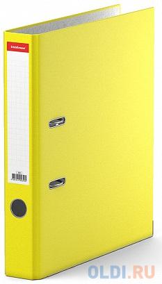 Папка–регистратор с арочным механизмом разборная ErichKrause®, Standard, А4, 50 мм, желтый фото