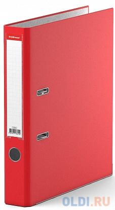 Папка–регистратор с арочным механизмом разборная ErichKrause®, Business, А4, 50 мм, красный фото