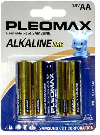 Батарейки Samsung Pleomax LR6-4BL AA 4 шт
