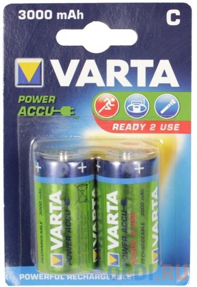 Аккумуляторы 3000 mAh Varta R2U C 2 шт фото
