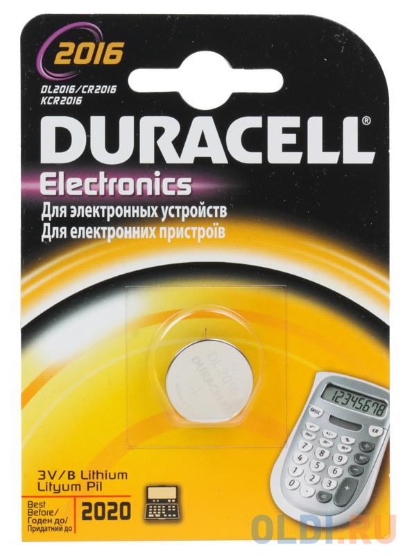 Батарейки DURACELL (CR2016) CR2016 1 шт
