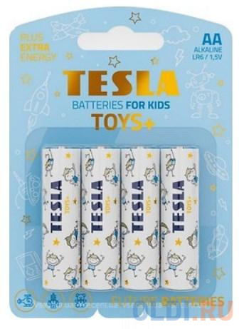 Батарейки TESLA AA TOYS BOY Alkaline (LR06/блистер 4 шт.) батарейки smartbuy sbbz 2a04b aa 4 шт