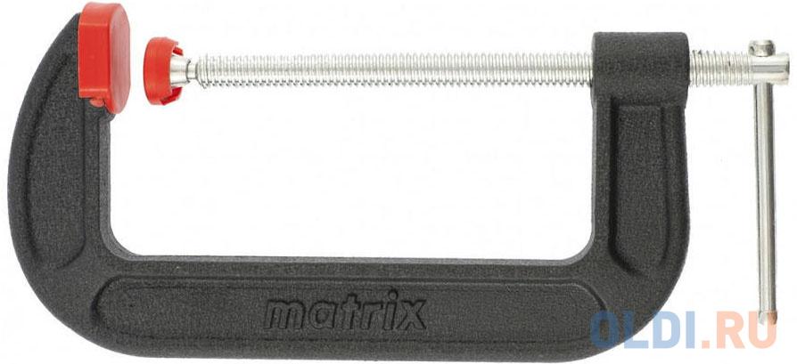 Струбцина MATRIX 20604 G-образная 100мм струбцина g образная 75 мм matrix
