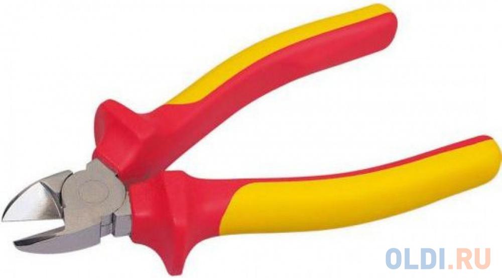 Кусачки электрика STANLEY MaxSteel VDE 1000V 0-84-009 160мм 1000В сантехнические клещи stanley maxsteel vde 1000v 0 84 294 255 мм