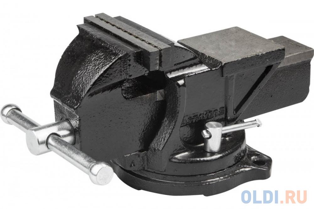 Тиски Stayer Master слесарные поворотные 95мм 3256-100 недорого
