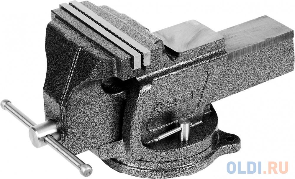 Фото - Тиски ЗУБР 32703-200 эксперт индустриальные поворотные 200мм тиски зубр 125мм с поворотным основанием эксперт 32606 125