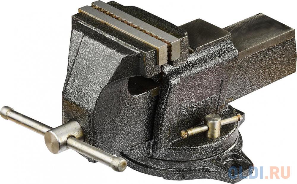 Фото - Тиски ЗУБР ЭКСПЕРТ индустриальные поворотные, 125мм тиски зубр 125мм с поворотным основанием эксперт 32606 125