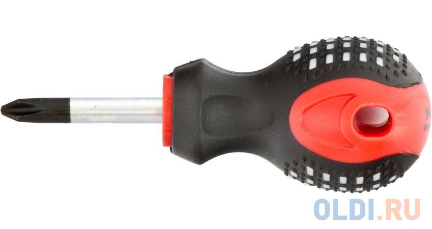 """Отвертка Fusion, Ph2 х 38 мм, CrV, 3-х компонентная рукоятка """"anti slip""""// Matrix"""