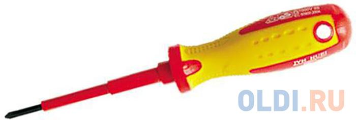Отвертка MATRIX 12920 insulated sl6.5 x 150мм crmo до 1000 в двухкомп. рукоятка отвертка matrix insulated sl8 0 x 150 мм crmo до 1000 в двухкомпонентная рукоятка