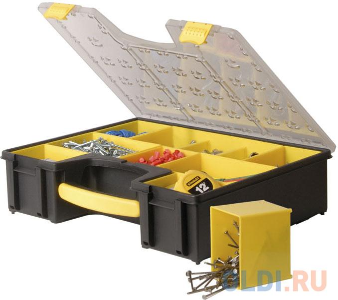 Органайзер STANLEY 1-92-749 профессиональный 8 отделений пластмассовый органайзер stanley 9 отделений пластмассовый 1 93 978