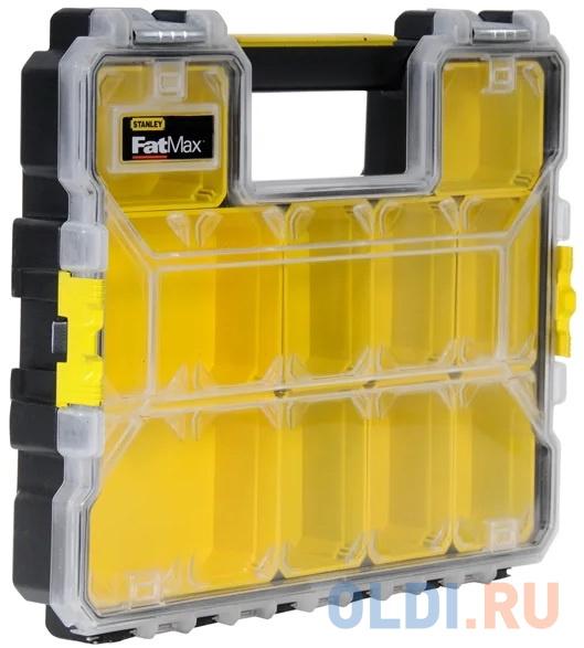 Органайзер STANLEY FatMax Shallow Pro Metal Latch 1-97-517 профессиональный 44.6x7.4x35.7см органайзер stanley fatmax shallow pro 1 97 517