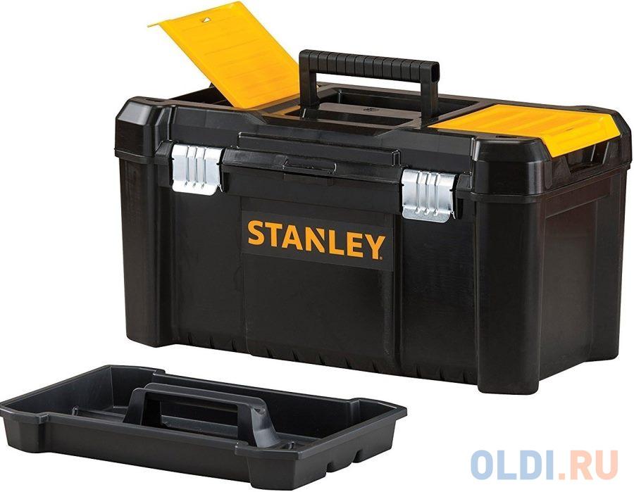 ЯЩИК Д/ИНСТ. ESSENTIAL TB МЕТ.ЗАМ 19 STST1-75521 Stanley ящик с органайзером stanley stst1 75521 essential toolbox metal latch 48 2x25 4x25 см 19 черный