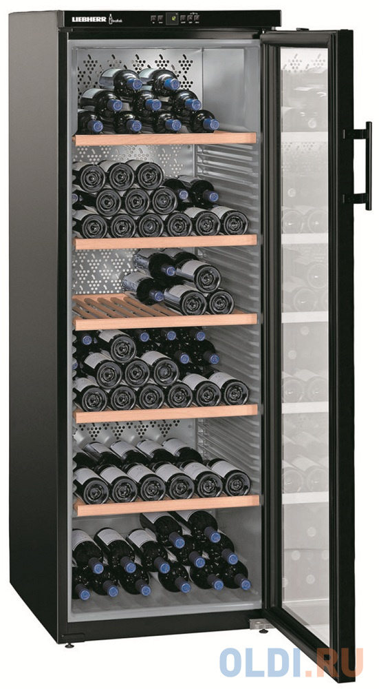 Винный шкаф Liebherr WKb 4212-20 001 черный.