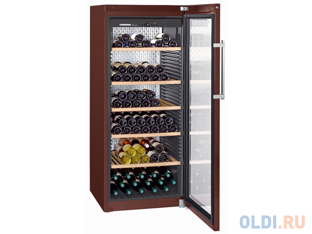 Винный шкаф Liebherr WKt 4552-20 001 коричневый.