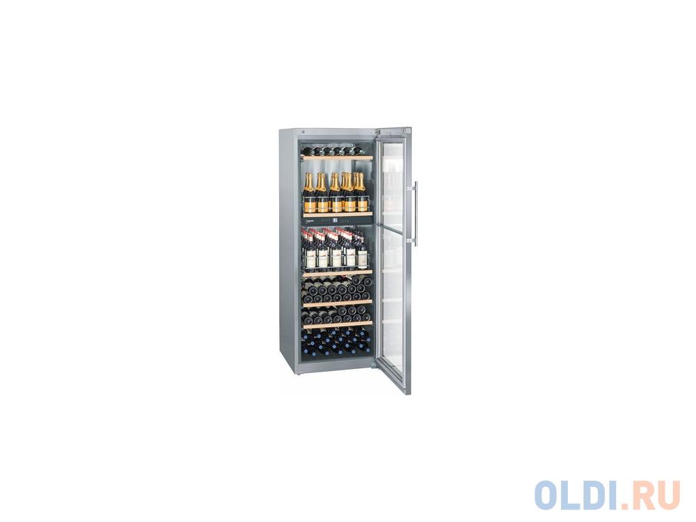 Винный шкаф Liebherr WTpes 5972-20 001 серебристый.
